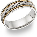 Braided Wedding Bands: Entertwined Love