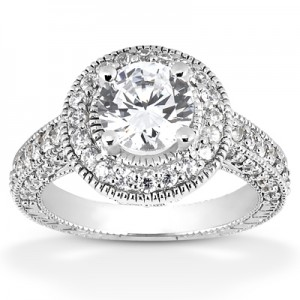antique-halo-solitaire-engagement-ring-ENR6533C
