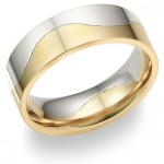 Two-Tone Wedding Bands: Two Shall Become One