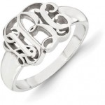 Monogram Rings: Modern Monikers