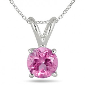 round-pink-sapphire-neckalce-made-in-14k-white-gold-GPR0040PS1C
