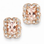 Morganite Jewelry: Peachy Keen