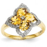 Citrine Rings: November Sparklers
