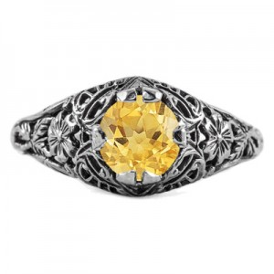 floral-edwardian-style-citrine-ring-R058CTC