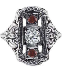 victorian-three-stone-ruby-garnet-ring