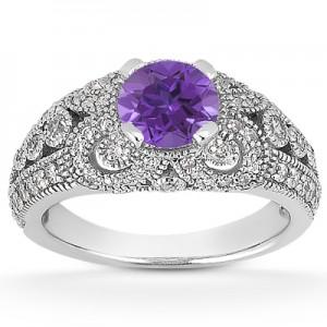 vintage-style-tanzanite-ring-ENR8464TZC