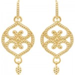 Gold Design Earrings: Head-Turning Delights
