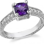 Amethyst Rings: February's Birthstone