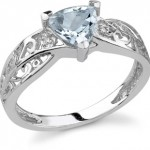 True Blue: Aquamarine Rings for Ladies