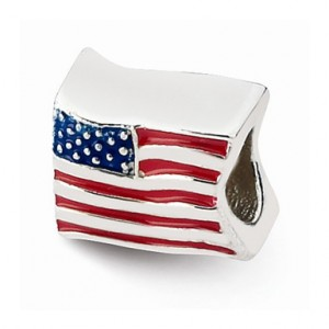 red-white-and-blue-american-flag-bead-in-sterling-silver-qrs1930C