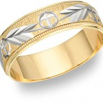 Two-Tone Wedding Bands: Two Into One