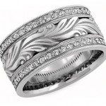 Diamond Wedding Rings: Fire and Ice