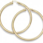 Gold Hoop Earrings: Rings of style