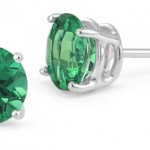 Gemstone Stud Earrings: Sparklers for Your Ears
