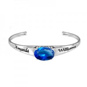 personalized-birthstone-cuff-bangle-bracelet-with-oval-cz-NB71354C