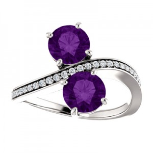 only-us-2-stone-amethyst-ring-71779AM3C
