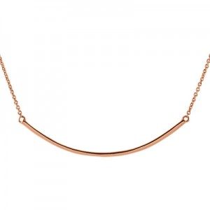 14k-rose-gold-curved-bar-necklace-86049RC