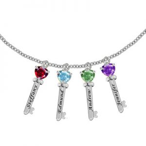family-key-pendant-necklace-with-4-cz-stones-in-sterling-silver-mp30516-4c