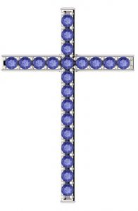 alpha-and-omega-tanzanite-cross-pendant