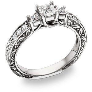three-stone-princess-cut-diamond-engagement-ring