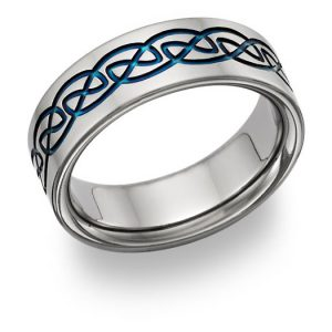 blue-titanium-celtic-wedding-band-ring