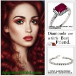 Diamonds – with Garnets – Are a Girl's Best Friend