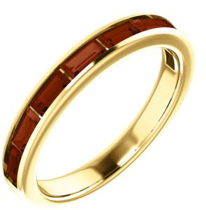 yellow-gold-baguette-garnet-band