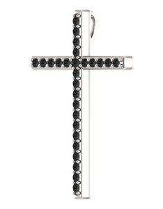 1-2-carat-black-diamond-cross-pendant