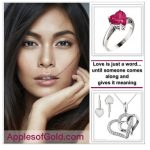 Heart Jewelry Gift Guide: Love is Just a Word Until …