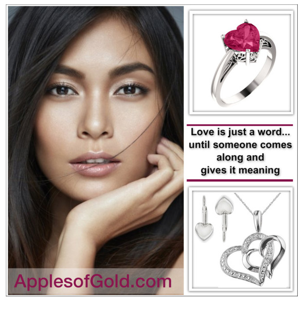 heart jewelry gift guide - love