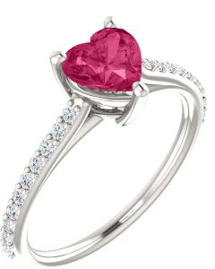 heart-shaped-pure-pink-topaz-diamond-ring