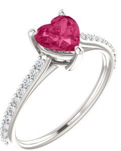 heart-shaped-pure-pink-topaz-diamond-ring