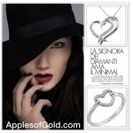 Valentine's Day Heart Jewelry Gift Guide #1