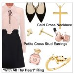 Why All Thy Heart Gold Christian Cross Jewelry