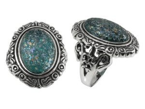 oval-ancient-roman-glass-ring-sterling-silver