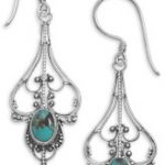 Silver and Turquoise Earrings: Fresh Designs for An Ancient Stone
