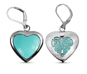 heart-shaped-turquoise-earrings-in-sterling-silver