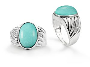 oval-turquoise-twist-ring-silver