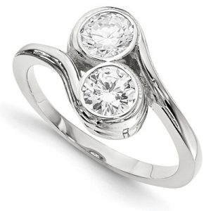 bezel-set-diamond-two-stone-ring-in-white-gold-wm2612c