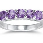 Gemstone Wedding Bands and Rings for Women