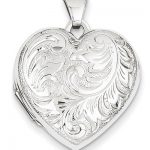 White Gold Lockets: Memories of Love