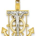 Mariners Anchor Cross Pendants and Necklaces