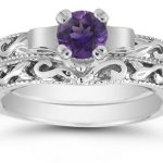 White Gold Amethyst Jewelry: Get in the Holiday Spirit