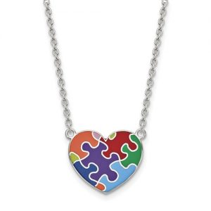 Autism awareness jewelry from apples of gold applesofgold i define autism kerry magro an individual on the autism spectrum aloadofball Gallery
