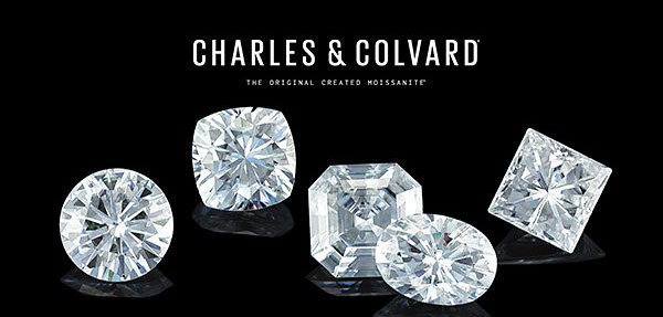 Loose Moissanite Charles and Covard