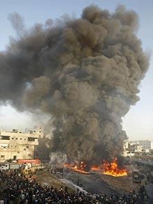 gaza-airstrikes