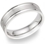 Wedding Bands: Modern Simplicity