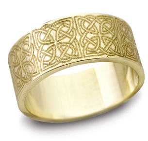 gold celtic jewelry,