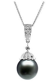 Show your love with tahitian black pearls applesofgold black pearl necklace aloadofball Image collections