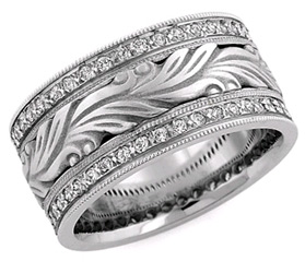diamond-paisley-wedding-band